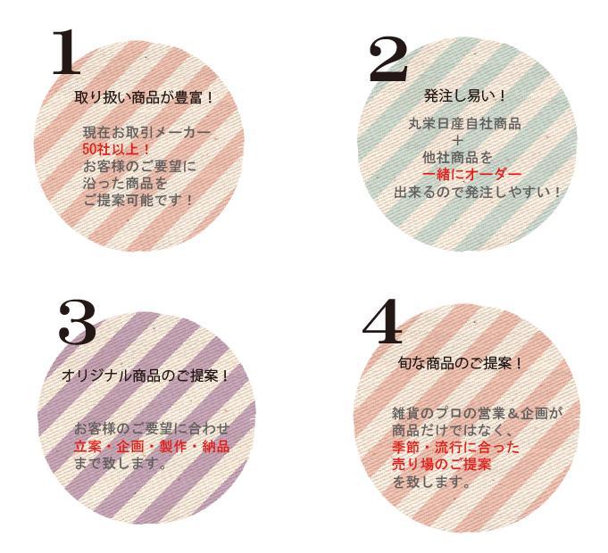 新規お取引先様へ(素材 丸栄売り)